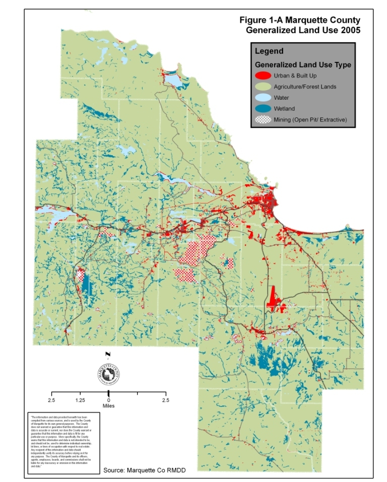 Marquette County Land Use Land Value And Land Ownership Mapping - Us-land-use-map
