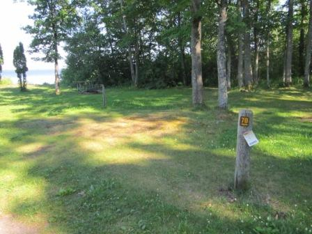 Marquette County - Full Hook Up Campsite Photos