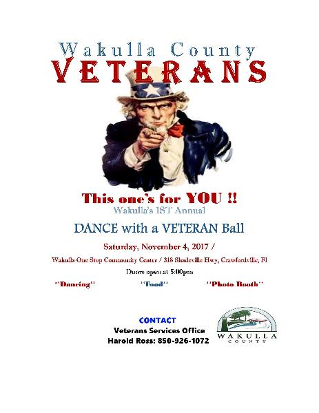 Veterans Ball Flyer