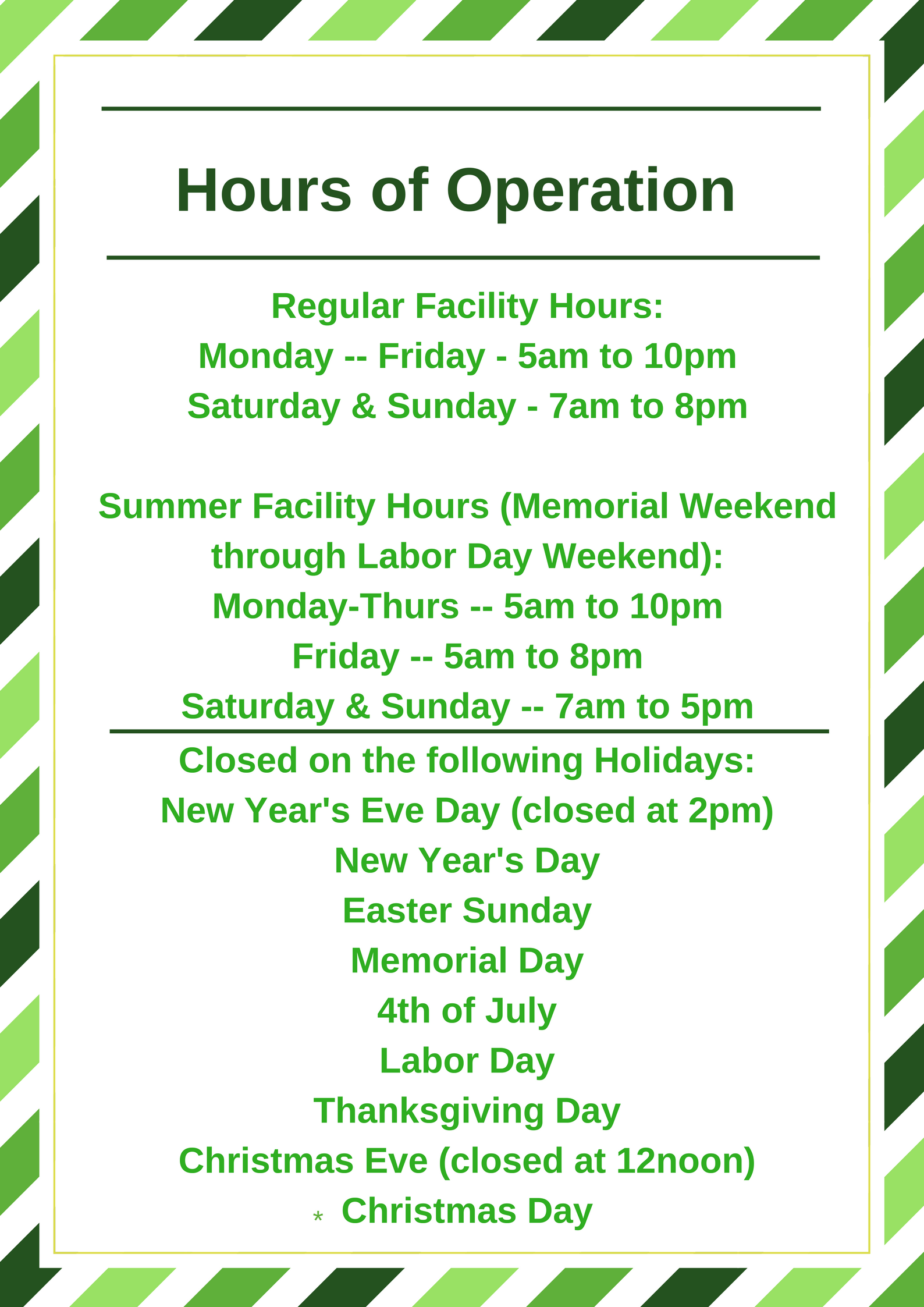 042718 - Hours of Operation
