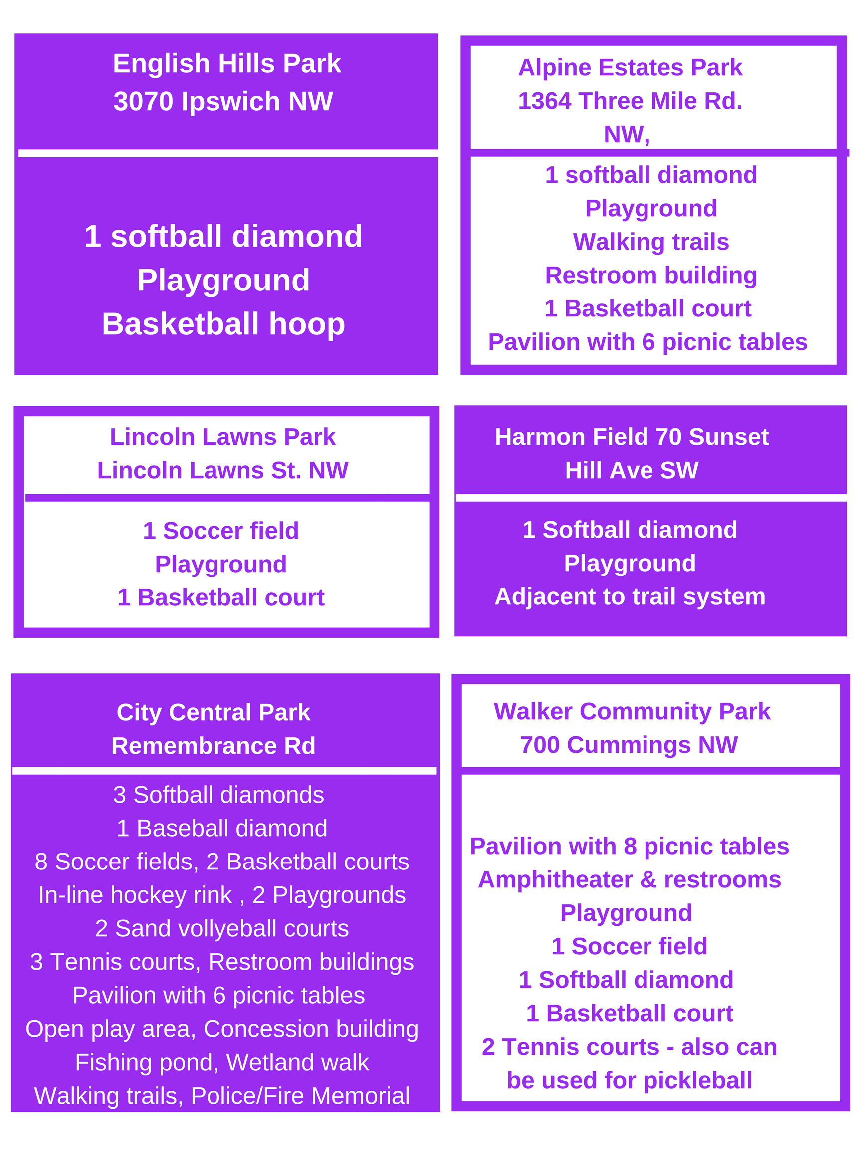 050418 - parks and amenities 2