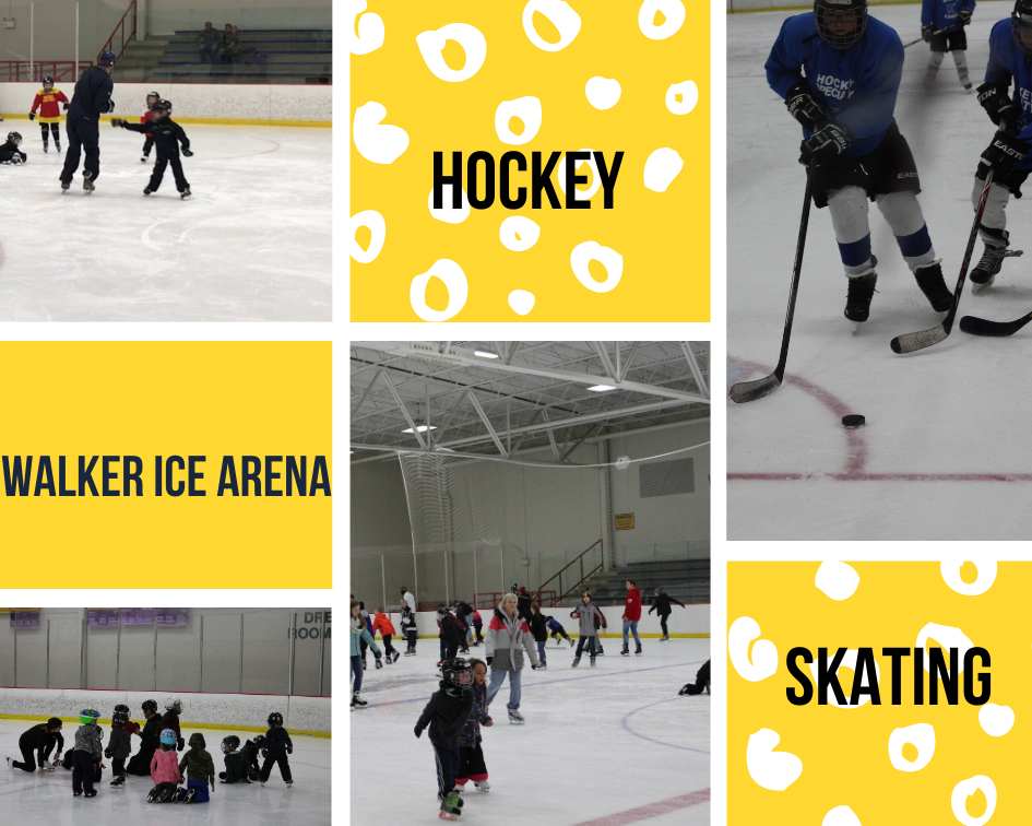 Walker Ice Arena photo collage 1